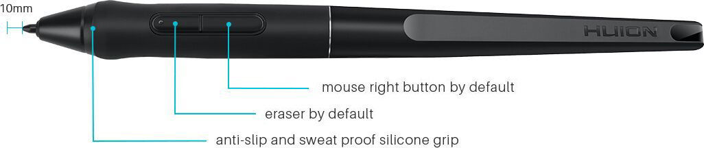 Huion Q11k Pen Not Working