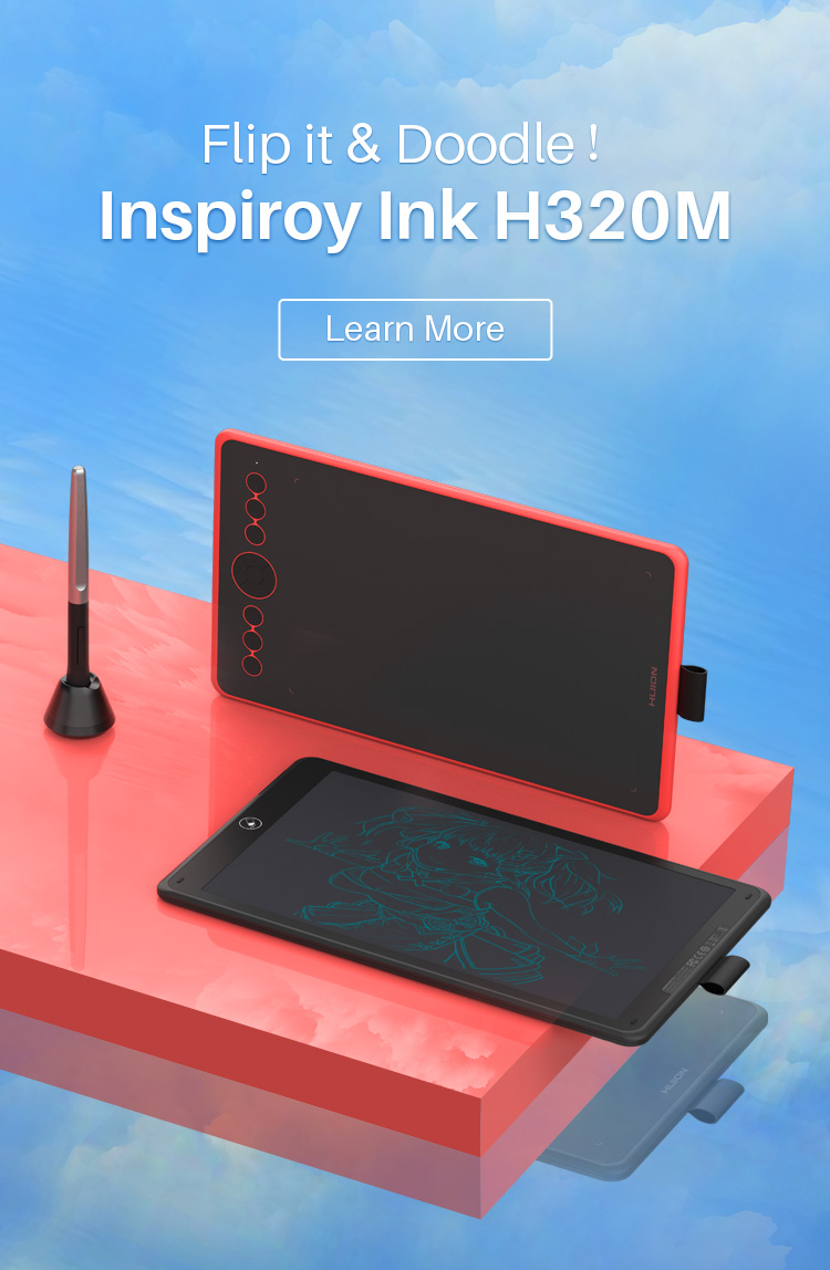 Creative Pen Displays & Tablets for Drawing - Huion